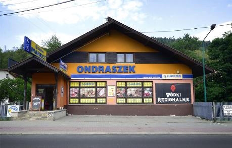 Supermarket Lewiatan pod kwaterami - Noclegi Szczyrk ONDRASZEK